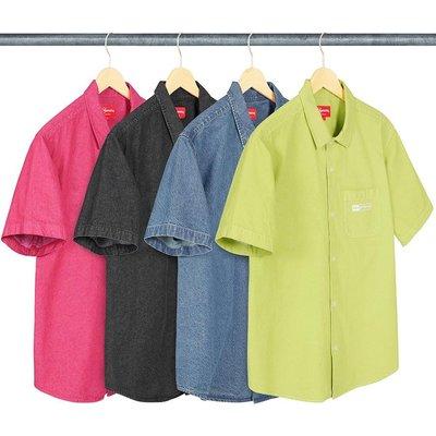【美國鞋校】預購 SUPREME SS20 Invert Denim S/S Shirt 短袖 襯衫
