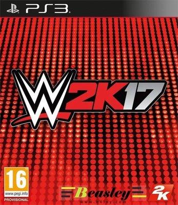 【Beasley遊戲家】PS3 WWE 2K17 摔角 美版英文數位下載版