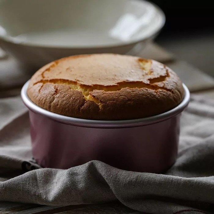 Amy烘焙網:chefmade美國學廚玫瑰金8吋活底蛋糕模 8寸蛋糕模 陽極 戚風蛋糕模 活底蛋糕模