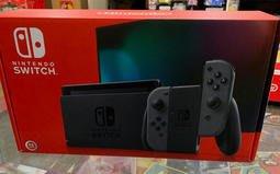 新版 新型號 電力加強版 任天堂 Switch NS 主機 灰 黑 SWITCH主機 附玻璃貼(不代貼)[士林遊戲頻道]