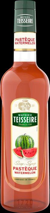 Teisseire 糖漿果露-西瓜風味 Watermelo Syrup 法國頂級天然糖漿 700ml-【良鎂咖啡精品館】