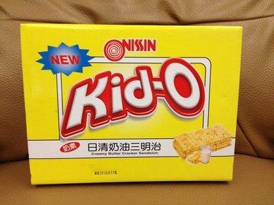 Kid-O日清奶油三明治餅乾一盒68包入  345元--可便利商店取件付款 台北市