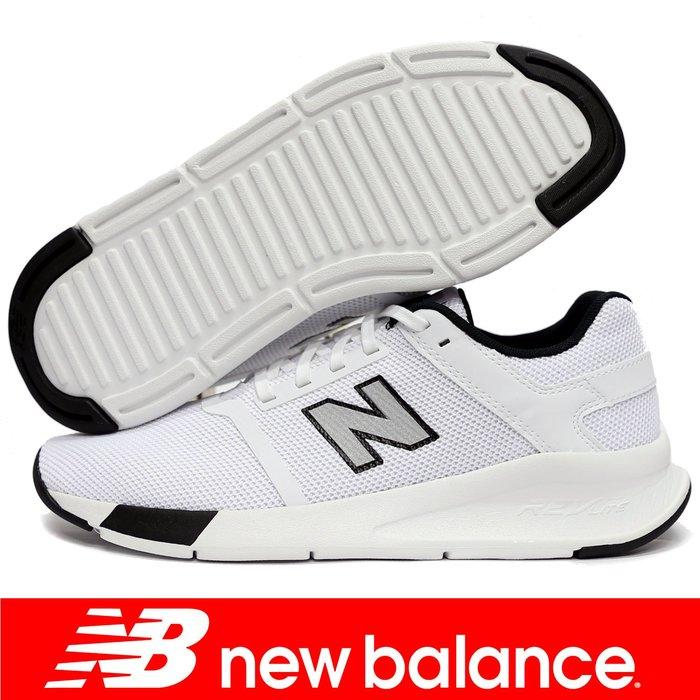 鞋大王New Balance MS24WB2-D 白色 時尚運動鞋,有12號【免運費,加贈襪子】803NB