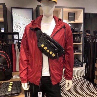 NaNa代購 COACH 72924 吃豆人腰包 胸包 男女通用 雙拉鏈隔層 實用個性 潮流時尚 附購證 買即送禮