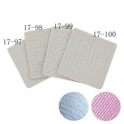 翻糖毛衣紋路針織紋理模具矽膠模具毛線絨線杯子蛋糕娃娃 裝飾 手作素材