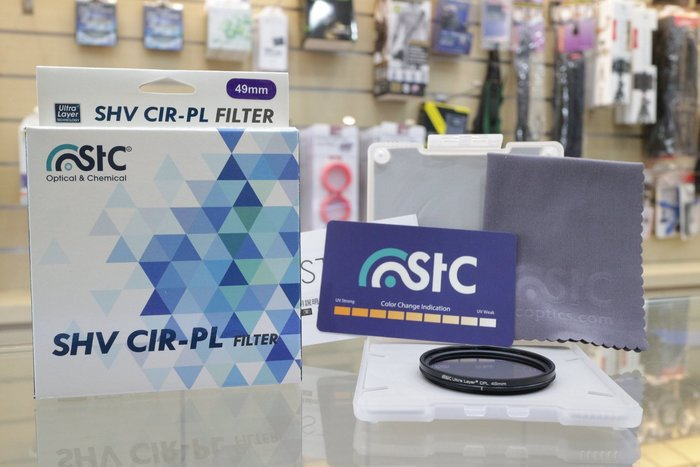 【日產旗艦】STC SHV Ultra Layer CPL 環型 偏光鏡 薄框 46mm 49mm 高透光 公司貨