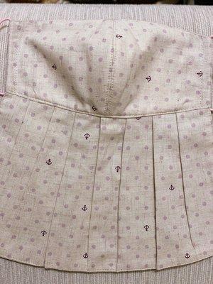 天使熊雜貨小鋪~新純手工日本布立體口罩(海錨-藍&粉色2款)大人加長版-單車必備 全新現貨