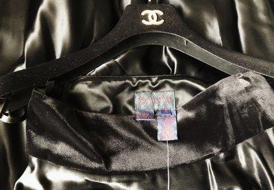 全新原價$19800 Ralph Lauren 綠標 黑絲絨腰圍黑緞晚宴裙