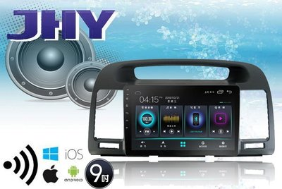 **Ji汽車音響**CAMRY JHY A23系列 10吋 四核心2G 安卓版本9.0 導航 聲控系統 手機鏡像S