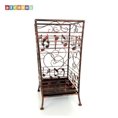 DecoBox古銅貝多芬方形萬用傘桶(...