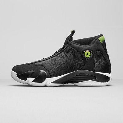 R'代購 Nike Air Jordan 14 Retro Indiglo OG AJ14 法拉利 白黑綠 487471 005 台北市