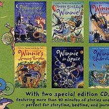 巫婆與黑貓 Winnie the Witch six book collection 合輯二~ 6書+2CD~