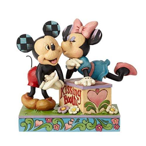 🗽Dona美國代購🗽預購 Enesco 迪士尼米奇米妮甜蜜親吻 塑像 公仔擺飾裝飾