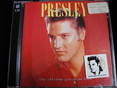【198樂坊】貓王Elvis Presley All Time Greatest Hits 2CD(..澳洲版)DI