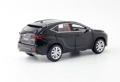 「車苑模型」JACKIEKIM玩具合金汽車模型1:32 Lexus NX200t  聲光迴力六開門
