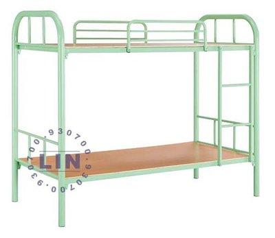 【品特優家具倉儲】P934-06床架大圓管雙層床優惠價