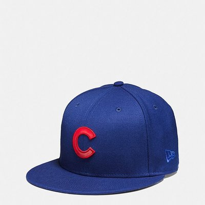 "Coach x MLB New Era Snapback Cap ""Chicago Cubs"" 棒球帽"