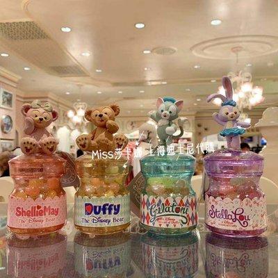 Miss莎卡娜代購【上海迪士尼樂園】﹝預購﹞達菲熊 雪莉梅 畫家貓 芭蕾兔 立體公仔造型蓋 糖果罐 糖果盒