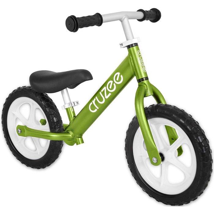 (CRUZEE) 超輕量鋁合金平衡滑步車 Push Bike 綠色 (共九色)