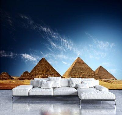 客製化壁貼 店面保障 編號F-526 埃及金字塔 壁紙 牆貼 牆紙 壁畫 星瑞 shing ruei