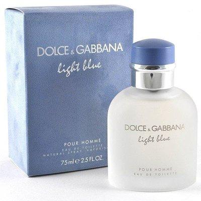 便宜生活館【香水D&G】 D&G Light Blue 淺藍 男性淡香水 125ml TESTER(可超取)
