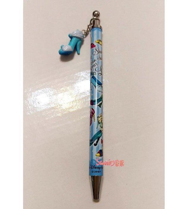 《東京家族》日本迪士尼樂園限定 灰姑娘 經典高跟鞋 黑色原子筆