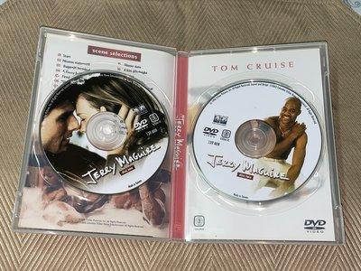 【李歐的二手洋片】銷售版 湯姆克魯斯 征服情海 雙碟版 DVD 有特別收錄 下標就賣