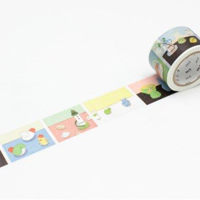 【莫莫日貨】mt x artist series 安西水丸 和紙膠帶 - Prints (整捲)MTANZI02