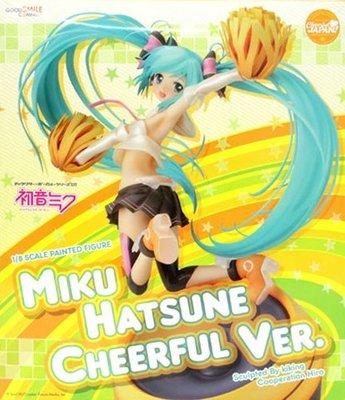 日本正版 GSC Cheerful JAPAN 初音未來 Cheerful 1/8 模型 公仔 日本代購