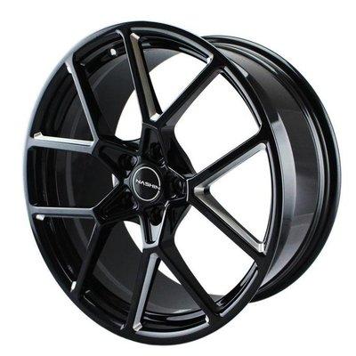 世盟鋁圈 R102 亮黑 鍛造鋁圈 19吋鋁圈 18吋鋁圈 輪圈 輪框 輕量化鋁圈 CS車宮車業