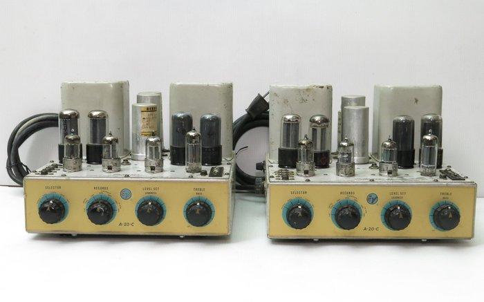 Electro Voice A20C 美國原裝 真空管 擴大機 一對 ( EV A20 mono mono 6V6)