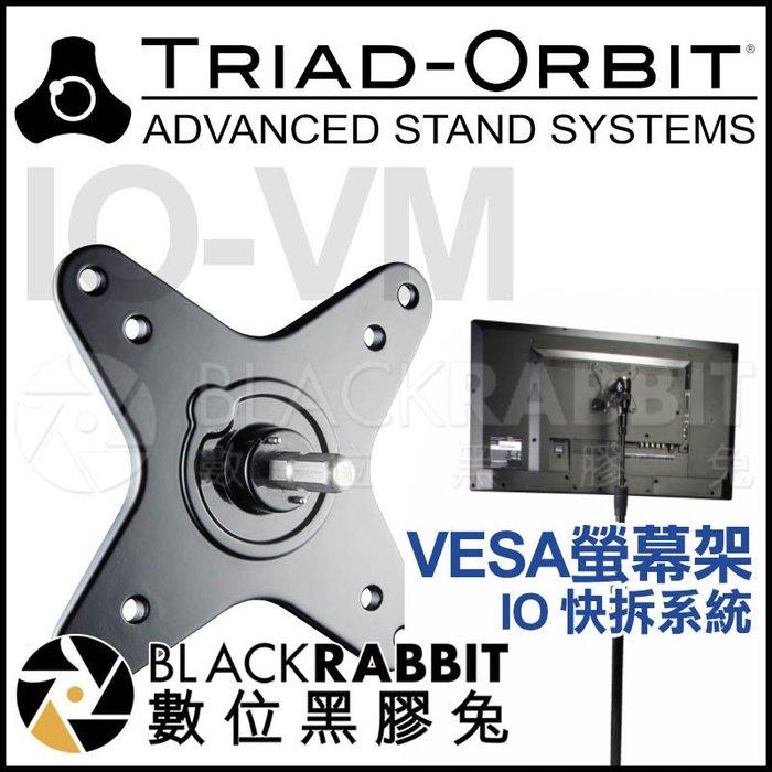 數位黑膠兔【 TRIAD-ORBIT IO-VM VESA 螢幕架 - IO 快拆系統 】 100x100 75x75