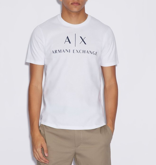 T☆【A/X男生館】☆【ARMANI EXCHANGE LOGO短袖T恤】☆【AX002A1】(S-M-L)原價1699