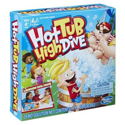 【陽光桌遊】(內附中規) 跳水泡泡遊戲組 Hot Tub High Dive 英文版 正版 益智遊戲