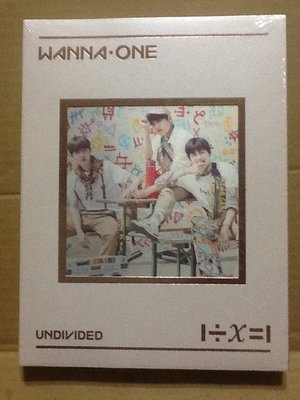 ~拉奇音樂~WANNA ONE 1÷Χ=1 UNDIVIDED 韓國版 全新未拆封(TRIPLE POSITION)1。