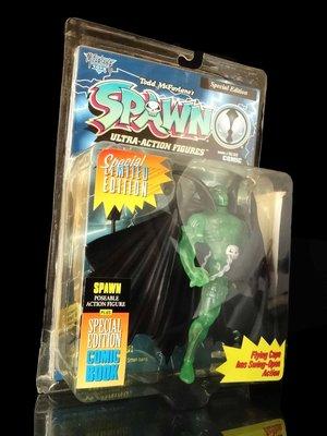 SPAWN COMIC BOOK 閃靈悍將 綠色變種 GREEN VARIANT 天富玩具店