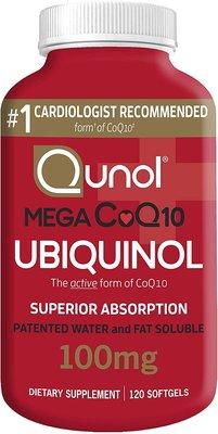 Qunol Mega 還原型 Q10 輔酶 ubiquinol 100mg