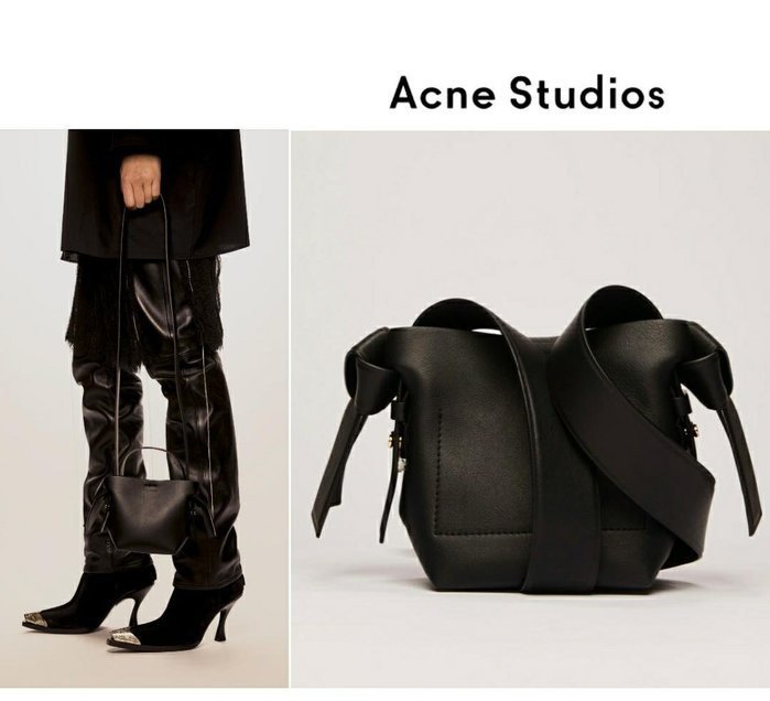 Acne Studios ►( 黑色 )musubi micro款 肩背包 斜背包|100%全新正品|特價!