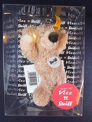 *阿威的藏寶箱‧*【特價 Steiff 德國金耳釦泰迪熊掛飾_ 手工製作】德國製 品相優 值得收藏