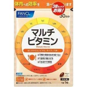 日本專櫃原裝 Fancl 芳珂 綜合維他命 30日份