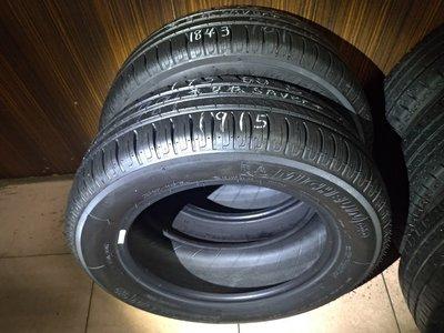 195 60 R 15 米其林 SAVER+ 18年43週製造 9成新 落地胎 二手 中古 輪胎 一輪1500元