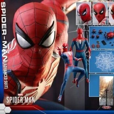 全新現貨未開 VGM31 Hottoys PS4 SPIDER-MAN Advanced Suit 電玩版蜘蛛俠