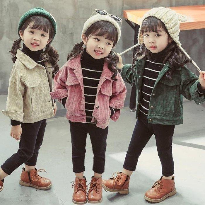 GOTSHOP 女童外套寶寶1一2-3歲兒童韓版公主風衣洋氣上衣GO618
