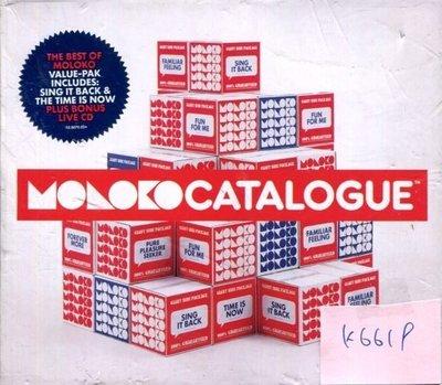 *真音樂* MOLOKO / CATALOGUE 二手 K6619  (大降價.下標賣4)