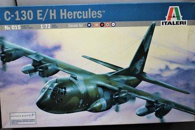 1:72   C-130E/H 大力神運輸機(塑膠凸雕射出成型)