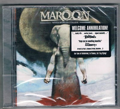 [鑫隆音樂]西洋CD-MAROON / WELCOME ANNIHILATION!{775092}/全新