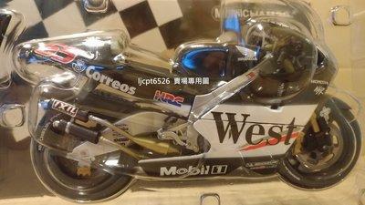 1:12 Minichamps Honda NSR 500 Loris Capirossi 2002 West 菸商版