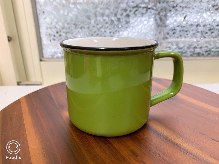 【無敵餐具】彩色陶瓷馬克杯/拿鐵杯/咖啡杯(8.5x7.5cm/260cc)4色~另有濃縮杯~量多可詢價【A0381】