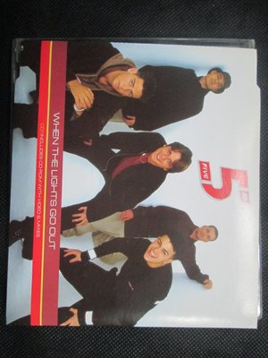 CD(正版)~Five 5--When The Light Go Out專輯.收錄When The Light Go