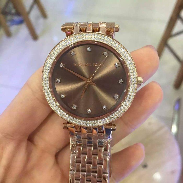 【Michael Kors代購館 】美國正品MK3217 百搭水鑽女錶 超薄型款腕錶 不鏽網錶帶手錶  促銷活動價